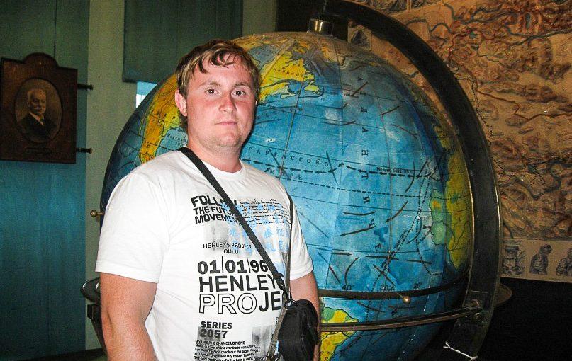 Омский учитель английского языка и журналист Виктор Власов